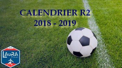 Montluçon foot calendrier R2
