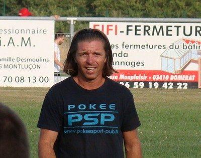 Mickaël Bessaque coach Montluçon foot