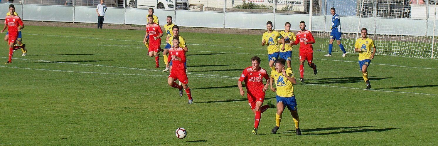 Montluçon foot face à Chamalieres
