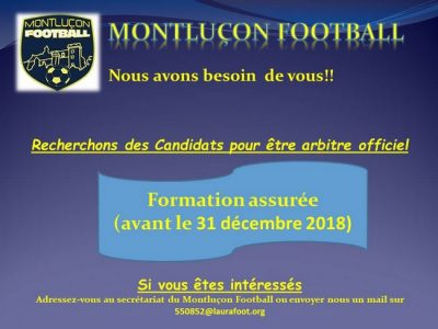 Arbitre Montluçon Foot