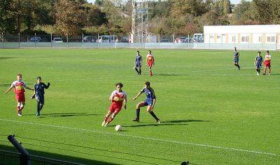 U16 Montluçon Foot contre Monistrol