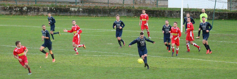 Montluçon Foot B contre Monistrol