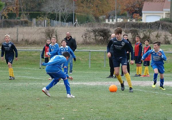 U13 Montluçon Foot contre Domérat