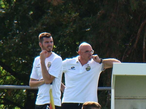 Gaetan Bonno coach U14 Montluçon Foot