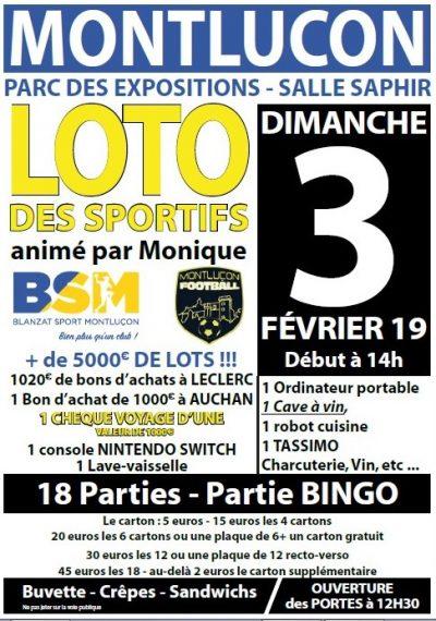 Loto Montluçon Foot BSM