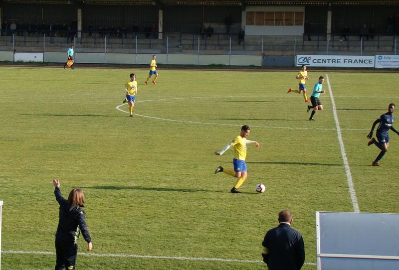 Montlucon Foot contre Rumilly