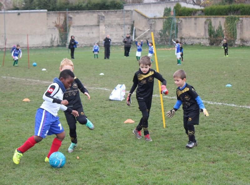 Jeunes U6 U9 Montluçon Foot
