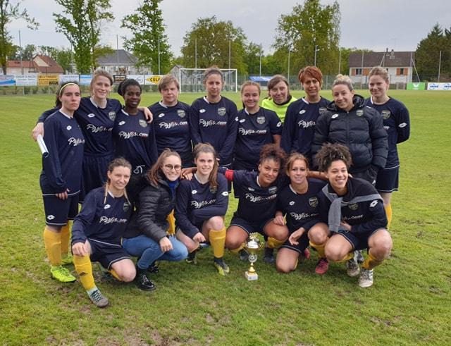 Féminines Montluçon Foot Coupe Lanoix