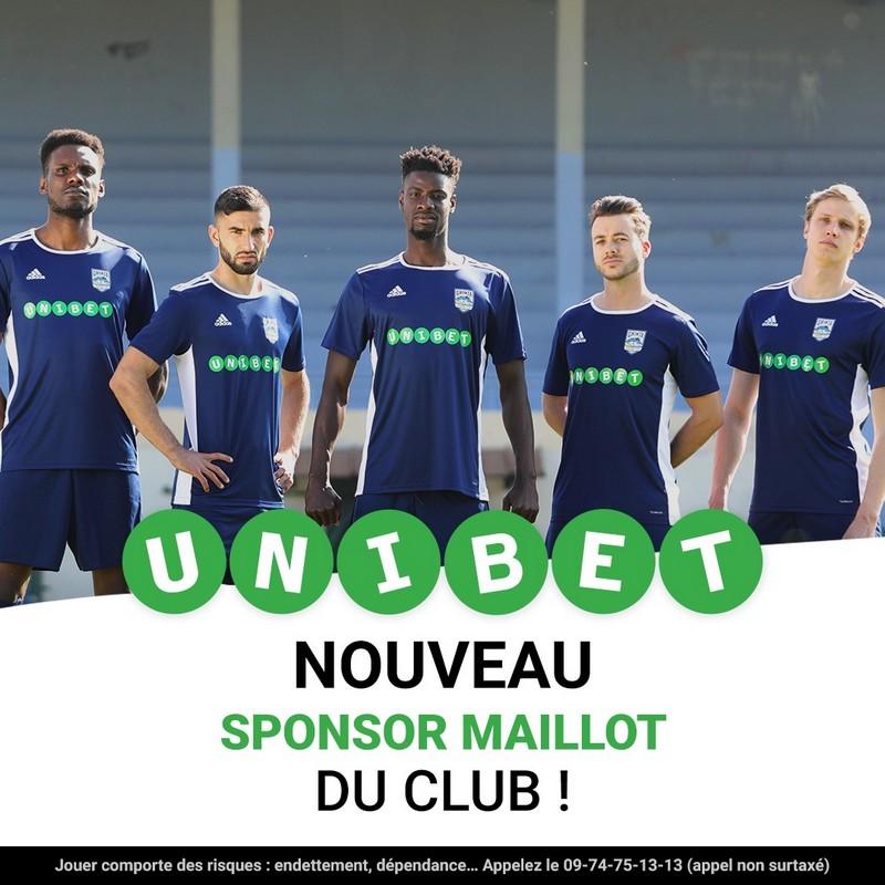 Partenariat UNIBET Montluçon Foot