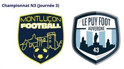 Montlucon Foot contre Le Puy