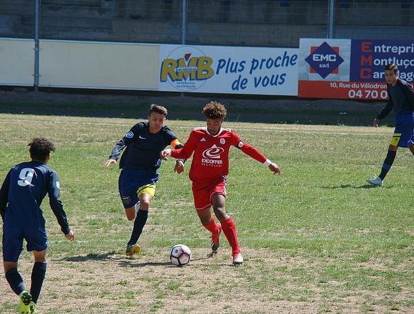 U17 National Montluçon Foot Annecy