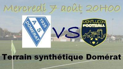 Montluçon Foot contre Domérat match amical