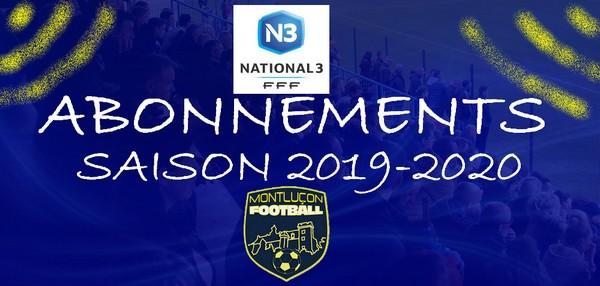 Abonnement Montluçon Foot 2019-2020