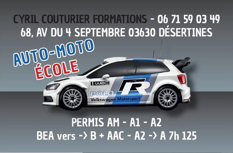 Auto_moto école Cyril Couturier Formations