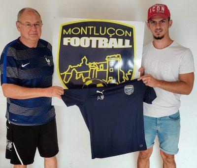 Hugo Garcia Montluçon Foot