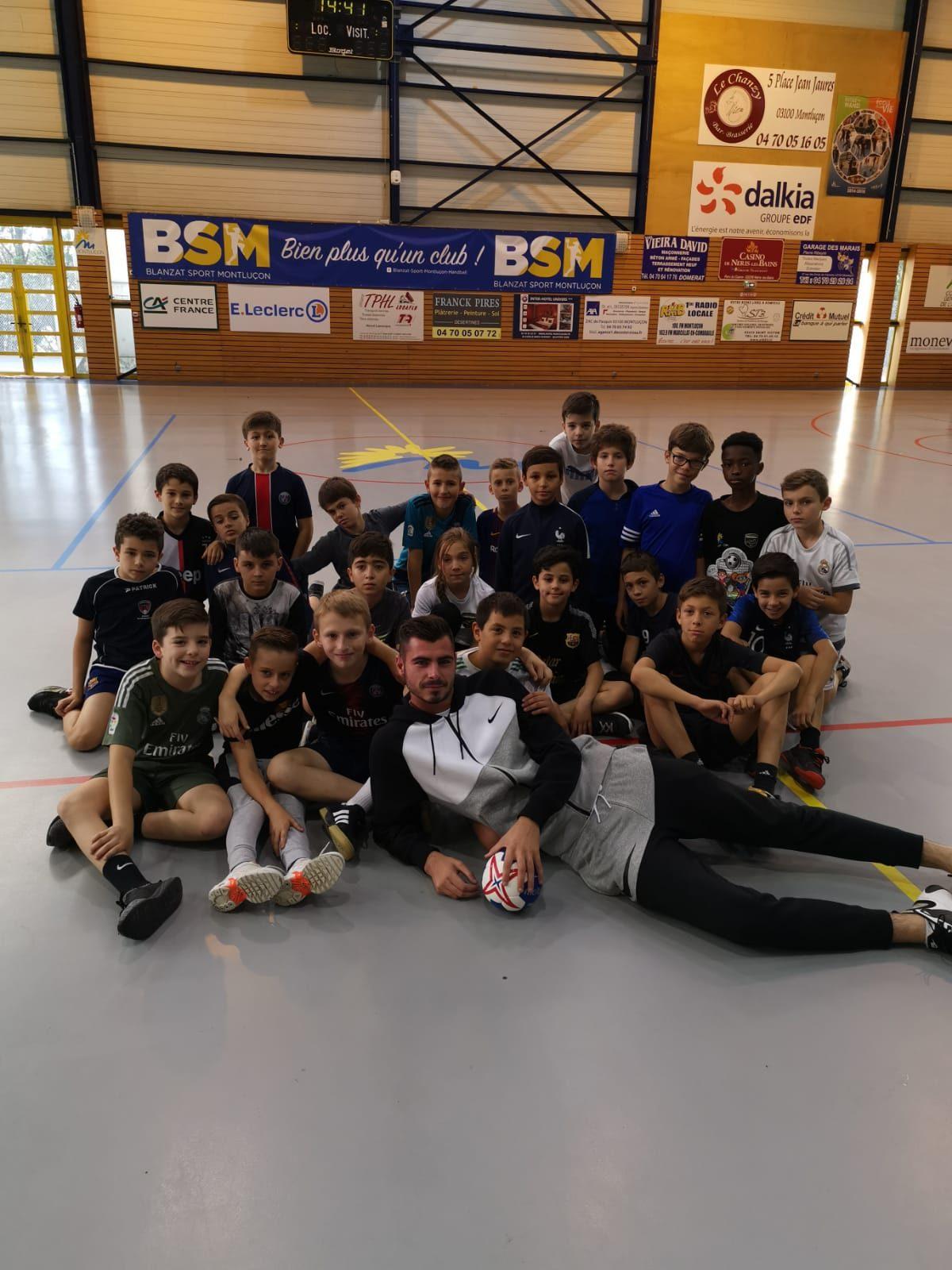 Stage Toussaint Catégorie U11 Montluçon Football