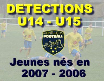 Montluçon Foot Détections U15