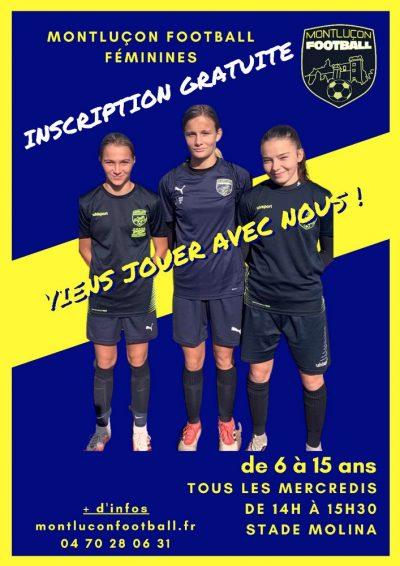 Montluçon Foot section féminines jeunes