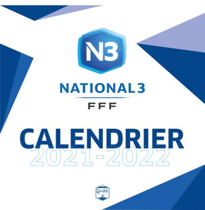 Calendrier N3 2021-2022
